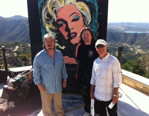 With Stan & Barry Livingston