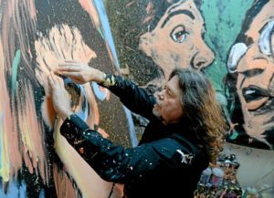 Claremont resident goes from banker to artist and finds happiness