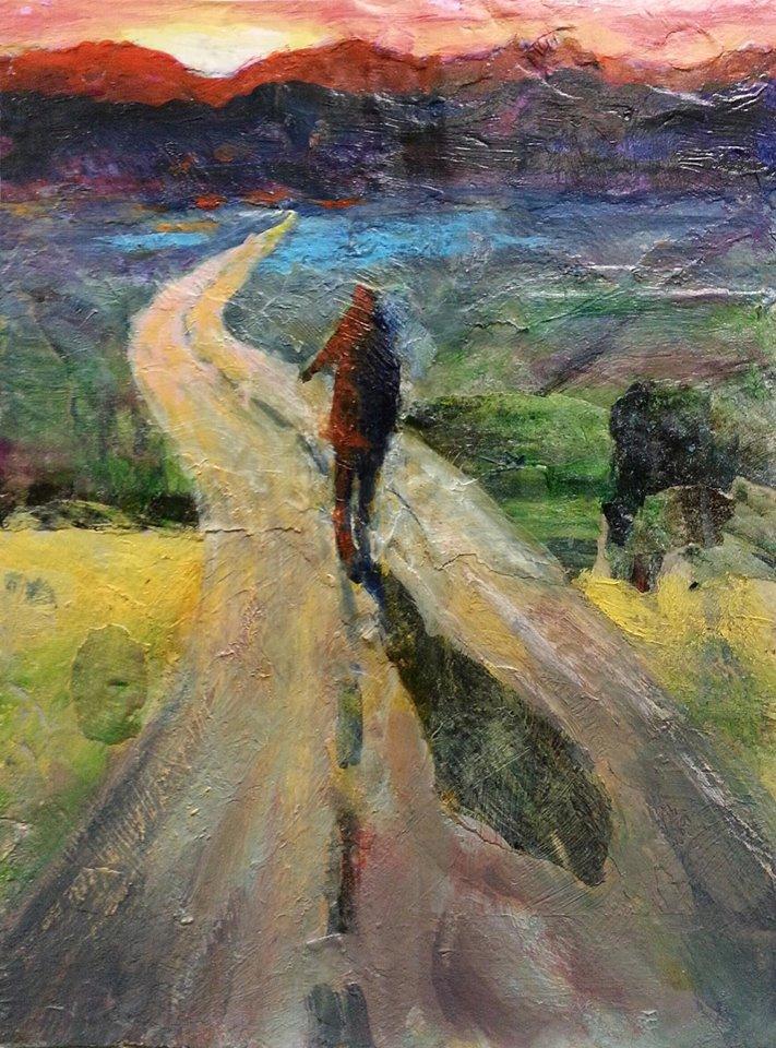 Mini painting - Onward