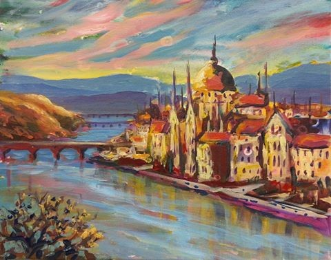 Colors of the Danube